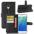 Flip Magnetic Card Slot Wallet PU Leather Case Stand Cover For Meizu Meilan 5S