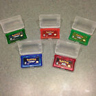 POKEMON FIRE, LEAF, SAPHIRE, RUBY, EMERALD gba game boy advance.  Lot option.