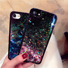 Bling Liquid Sand Cover For iPhone 6/ 7/Plus PC Shockproof Quicksand Hybrid Case