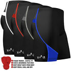 Mens Cycling Shorts Padded Bicycle MTB Street Racing Shorts Anit-Bac Padding