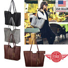 Women Leather Tote Bag Handbag Lady Purse Shoulder Messenger Satchal Bags T11 image