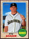 2017 Topps Heritage Seattle Mariners Baseball Card Your Choice - You Pick