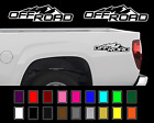 2X 2004 - 2012 Fits Chevy Colorado Off Road GMC Canyon 4x4 Vinyl Decal Set