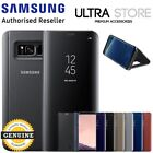 GENUINE Original Samsung G950 G955 Galaxy S8 S8 Plus CLEAR VIEW Stand Case Cover