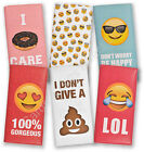 Emoji Chocolate Bar Sunglasses Love Heart Eyes LOL Doughnut Be Happy Bars