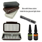 UV Clear Glue Thick And Thin UV Power Light choice Packed WaterProof Fly boxes