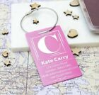 Metal Personalised Luggage Tags Travel Name Address Phone Number E-mail PLT-117
