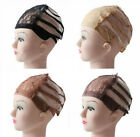 Wig making Base Inner cap Adjustable Weave Breathable Weaving Lace Net Xmas Gift