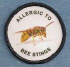 $ALE    ALLERGIC TO BEE STINGS   service dog vest patch