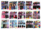 New Ladies Women's Colored Design Socks Cotton Blend Plain & Patterned Size 4-7