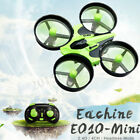 UK Eachine E010 Micro Drone 2.4G 4CH 6 Axis Gyro Headless Mode RC Quadcopter RTF