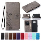 For Samsung Galaxy S9 PU Leather Magnetic Flip Stand Card Slot Wallet Case Cover