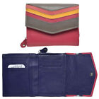 Lambland Ladies Super Soft Multi Colour Leather Purse with Zipped Coin Holder