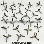 10 Small Caltrops - Road Tire Spikes Stars - Vehicle Immobilizer - Heavy Steel
