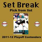 (HCW) 2011-12 Panini Playoff Contenders NHL Hockey Cards Set Break - You Pick $0.7 USD on eBay