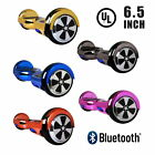 "UL2272 Bluetooth Flash LED 6.5""  Chrome Two Wheel Self Balancing Scooter"