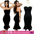 Sexy Womens Slim Bandage Bodycon Dress Ladies Evening Cocktail Party Dresses UK