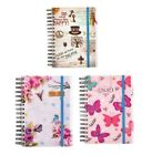 A5 Diary 2017-2018 Academic Mid Year One Day a Page Diary Spiral Bound Student