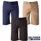 Hilfiger Denim Freddy Slim Fit Chino Shorts Jet Black Waist 38
