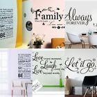 Hot Family Kids Diy Removable Wall Stickers Vinyl Decal Mural Home Decor Lots