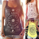 CHIC Womens Summer Vest Lady Top Sleeveless Blouse Casual Tank Tops T-Shirt NEW