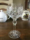 "Thomas Webb ""Warwick"" Pattern Crystal Hock Glass"