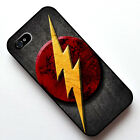 Flash Logo Pattern 2 in1 Case Cover For iPhone 4 4S 5 5S SE #3329
