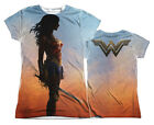 "Wonder Woman Movie ""Poster"" Dye Sublimation Girl's Junior Tee"