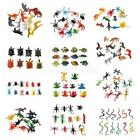 plastic insects - 8/10/12Pcs Plastic Small Animal Model Figures Kids Funny Educational Toys