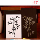Embossing Plastic Layering Stencils Album Painting Paper Card Hollow Template