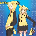 Spring Couple Fleece Pokemon Mimikyu Pikachu Hooded Anime Cosplay Sweater Coat