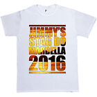 Sunset Print Personalised Stag Do Stag Night Mens T-Shirt Custom Party