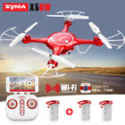 Syma X5UW 2.4G 4CH RC Quadcopter Drone with Camera 720P HD WIFI FPV US Free Ship