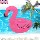 Inflatable Flamingo Drinks Holder Can Bottle Cup Summer Pink Pool Party Festival