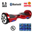 """UL2272 Bluetooth 6.5"""" Hover Solid Two Wheel Self Balancing Scooter Board"""