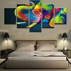 5 Pcs Animal Elephant Picture Canvas Wall Painting Modern Poster Art Home Decor