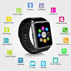 GT08 SIM Card GSM Smart Bluetooth Watch Sport Bracelet for IOS Android Silver