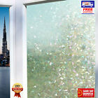 3D Laser Colour Etched Decorative Static Glass Window Film PVC Vinyl Frosted