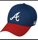 Atlanta Braves Home MLB Replica Baseball Cap Adjustable Adult Cotton Twill Hat on Ebay