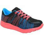 NEW LADIES MEMORY FOAM ULTRA LIGHT WEIGHT FITNESS RUNNING WALKING TRAINERS SHOES