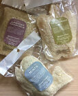 Ancient Wisdom-Loofah scrub bath soap-Mints-Lemongrass-Lavender & Chamomile-New