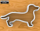 Smooth Dachshund Dog Cookie Cutter, Selectable sizes