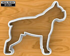 Boxer Dog Cookie Cutter, Selectable sizes