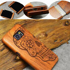 Natural Multi-Pattern Wooden Bamboo Case Phone Cover For Samsung S6 EDGE PLUS