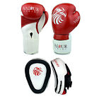 Pro Boxing Gloves Focus Pads 4oz - 16oz Punch Bag Sparring Fight MMA Muay Thai