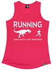 Running Some Motivation Required WOMENS DRY FIT VEST birthday gift gym running