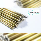 BRASS ROUND BAR / ROD Diameter 0.5mm to 4.0mm / 100mm to 1000mm LONG RODS
