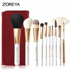 10 Pcs High quality Makeup Brushs Sets Soft Synthetic Professional Cosmetic tool