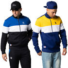 "NEW ERA Felpa UOMO Giacca NEW Mens ""Border Edge II Track Jacket"" Nuova MLB Su Ag"