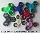 NEW Fidget Spinner Finger Hand Toy Steel EDC Top Quality Tri Spin Bearings